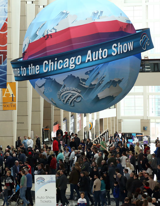 The Nation S Largest Auto Show Chicago Auto Show