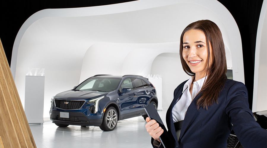 Cadillac Live Leads to In-person Sales | Chicago Auto Show