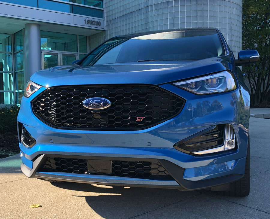 The St Comes Standard With A Turbocharged   Liter V Ecoboost Engine With  Horsepower On Tap And A   Mph Time Of Just  Seconds Ford Claims This
