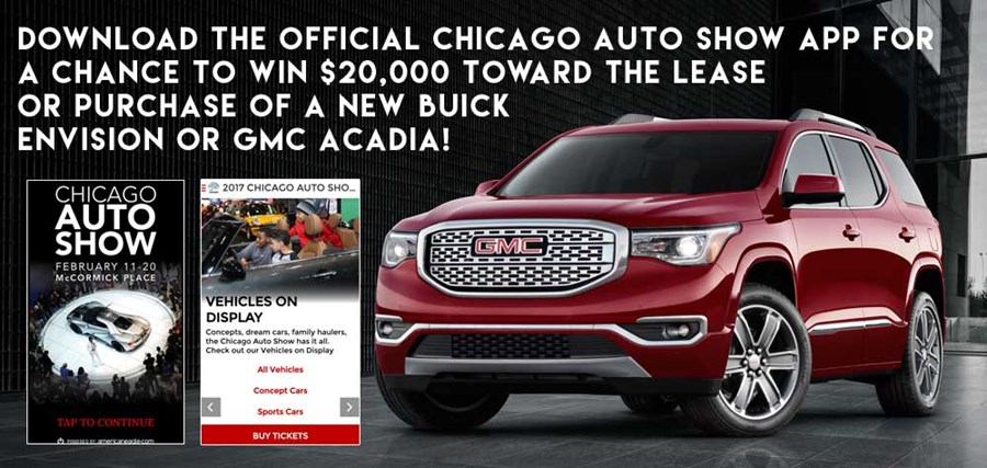 Official Auto Show App Multimedia Chicago Auto Show - Car show app