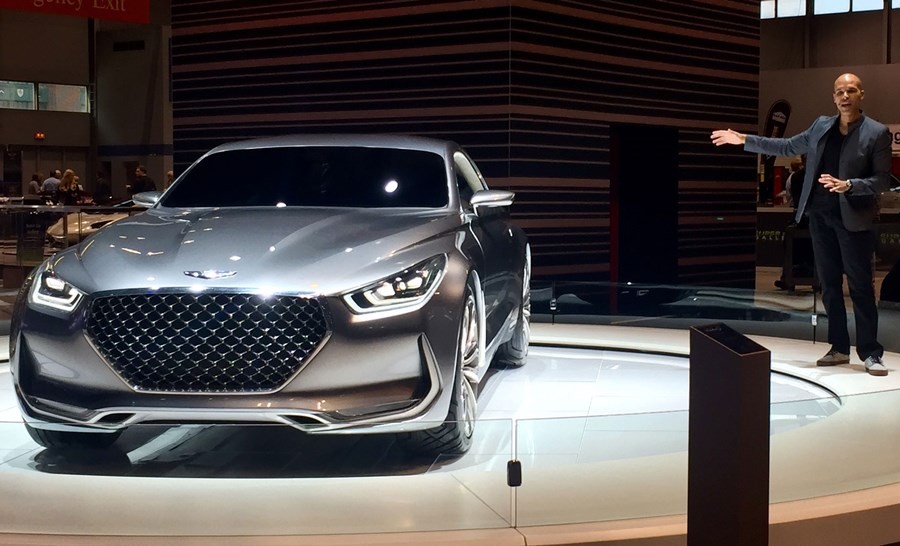 The New Genesis Vision G Hits The Floors Of The Chicago Auto - Chicago auto show car deals