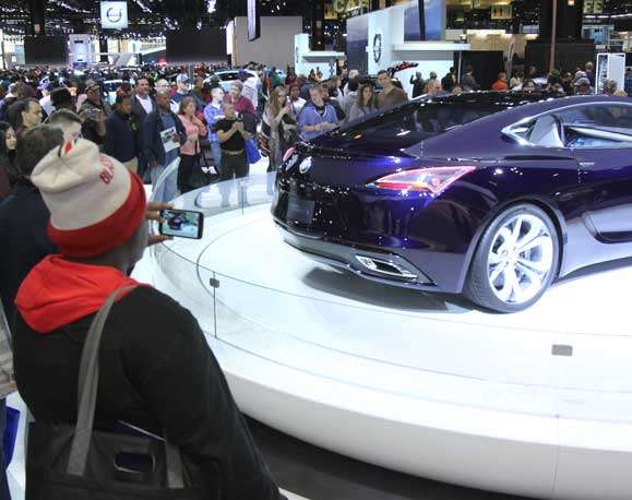 About The Show Chicago Auto Show - Car show com