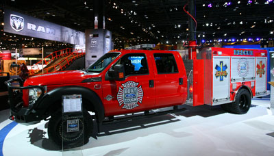 2012 Ford F 550 Rescue Truck