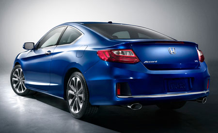 2013 Honda Accord Coupe Rear 450