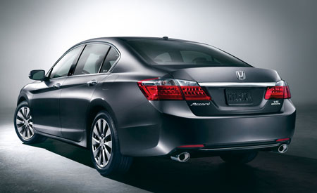 2013 Honda Accord Sedan Rear 450