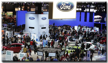 Ford Exhibit - Winner Chicago Auto Show Best Exhibit
