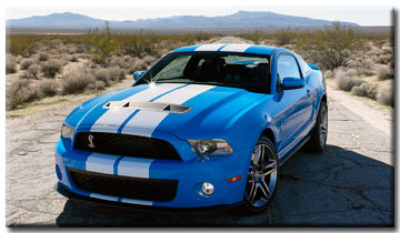 2010 Ford Shelby GT500 - Winner Chicago Auto Show Vehicle I'd Most Like To Have In MY Driveway